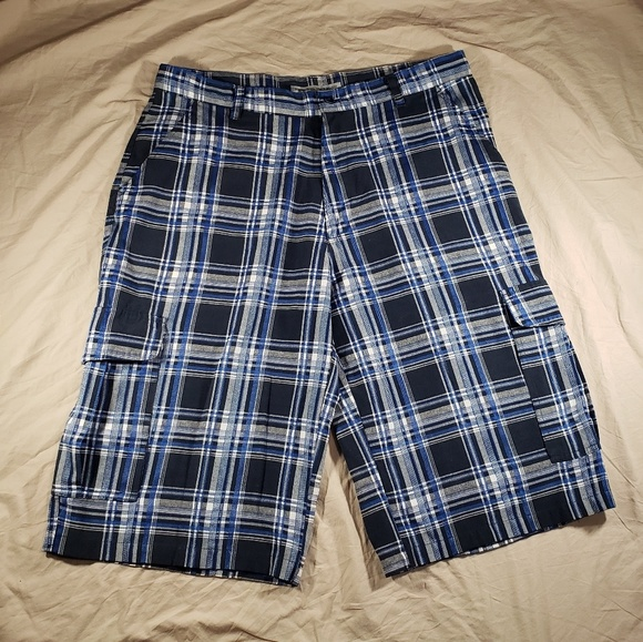 Beyond The Limit Other - Mens Shorts Size 40 Plaid Beyond The Limit